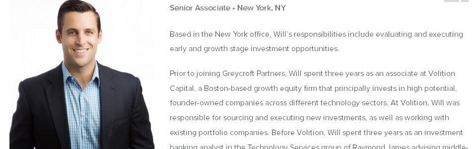 Investor Connect – Will Szczerbiak of Greycroft Partners