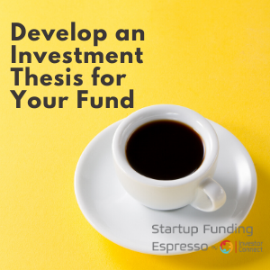 Develop an Investment Thesis for Your Fund