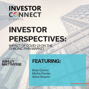 Investor Perspectives: Impact of COVID-19 on the Chronic Pain Market, Episode 2
