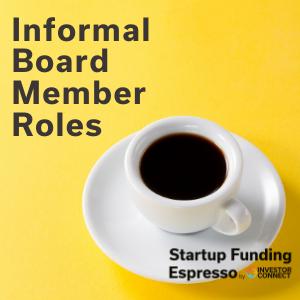 Informal Board Member Roles