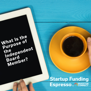 What Is the Purpose of the Independent Board Member?