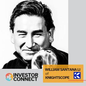 Investor Connect: William Santana Li of Knightscope
