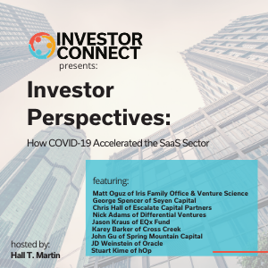 Investor Perspectives: How COVID-19 Accelerated the SaaS Sector