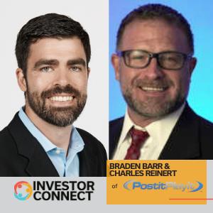 Investor Connect: Braden Barr and Charles Reinert of PostitPlayit