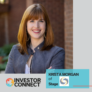 Investor Connect: Krista Morgan of Stage