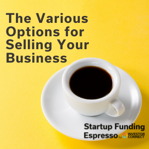 The Various Options for Selling Your Business