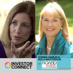 Investor Connect: Donna Hamlin & Nola Masterson of Boardwise