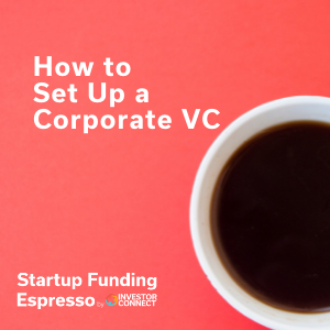 How to Set Up a Corporate VC