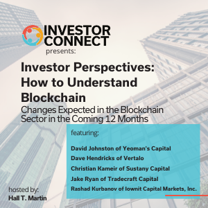 Investor Perspectives – How to Understand Blockchain: Changes Expected in the Blockchain Sector in the Coming 12 Months