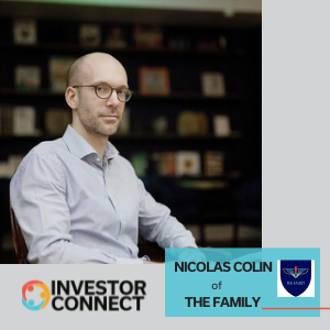 Investor Connect: Nicolas Colin of The Family